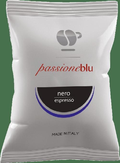 100 capsule PassioneBlu Nero Compatibili Lavazza Blue