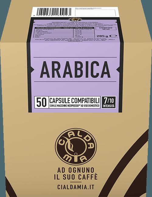 50 capsule Arabica compatibili Nespresso®