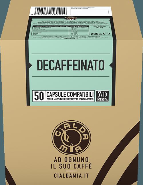 50 capsule Decaffeinato compatibili Nespresso®