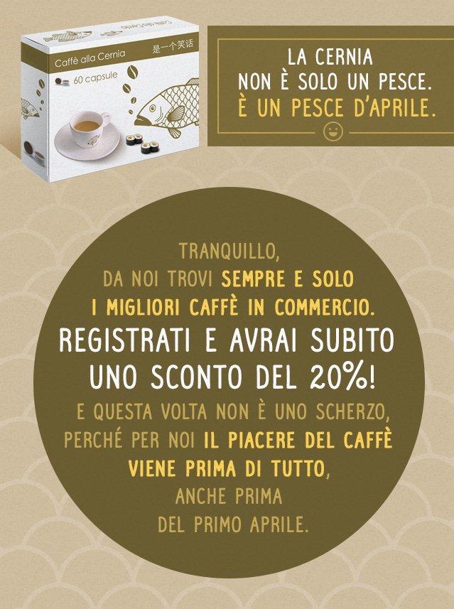 Caffè alla cernia